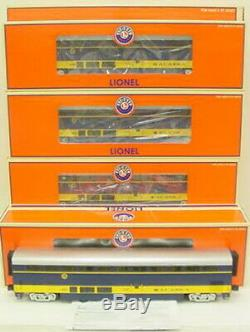 Lionel 6-15395 Alaska Superliner Passenger 4-Car Set MT/Box