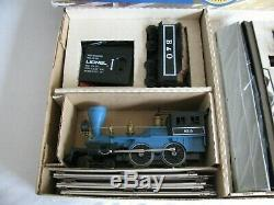 Lionel Baltimore & Ohio Train Set with General 4-4-0 & Passenger Cars #6-1351 NOS