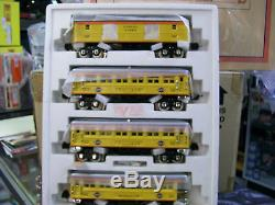 Lionel Corporation Tinplate Chessie 4-Car O Gauge 2600 Series Passenger Set NEW