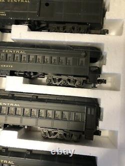 MTH Scale Madison Passenger Set Of Five New York Centeral Green 3rail