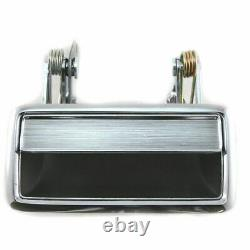 Outside Exterior Outer Chrome Door Handle 4 piece Set Kit for Lincoln
