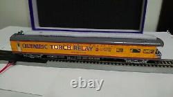 Overland (OMI) Brass Salt Lake 2002 Olympic Torch Relay 7-car set (HO scale)