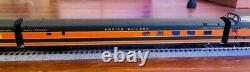 PROTO 2000 Diesel EMD F7A-B Set Powered withSound & DCC with/11 EP cars