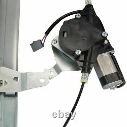 Power Window Regulators with Motor Front Pair Set LH & RH for 94-97 Town Car
