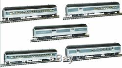 Rivarossi Southern Pacific 60ft Passenger RPO Baggage Coaches Set Of 5 Cars