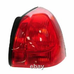 Taillight Taillamp Pair for Lincoln Town Car 03-11